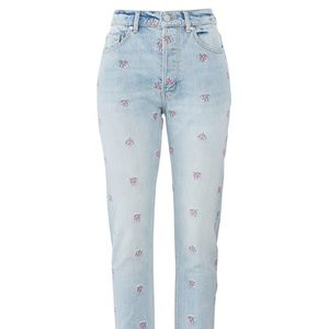 NWT Rebecca Taylor La Vie Floral Jeans